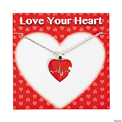 Heart Health Necklaces with Card
