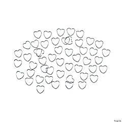 Heart Jump Rings