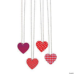 Heart-Shaped Dog Tag Necklaces
