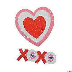 Heart Sticker Foil Activities