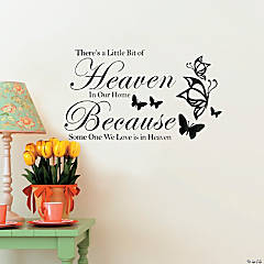 Heaven in Our Home Wall Decals