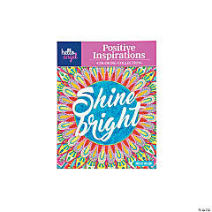 Hello Angel Positive Inspirations Shine Bright Adult Coloring Book