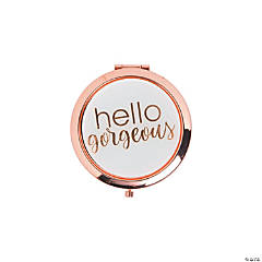 Hello Gorgeous Rose Gold Compacts