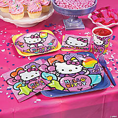 Hello Kitty Rainbow Basic Party Pack