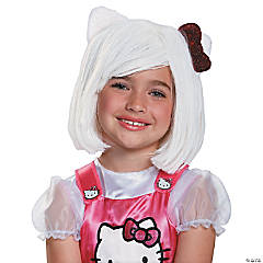 Hello Kitty Wig for Girls