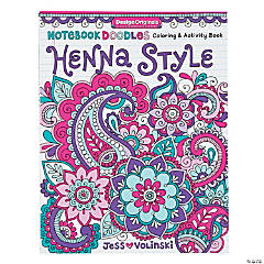 Henna Style Coloring Book