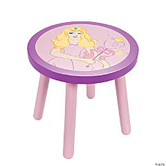 Her Mini Majesty A Place to Call My Throne Round Princess Stool