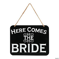 Here Comes The Bride/It's Party Time Wall Decoration