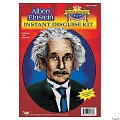Heroes in History: Albert Einstein Wig & Mustache Costume