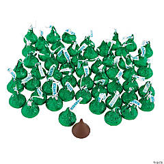 Hershey's® Kisses® 400 Pc. Green Chocolate Candy