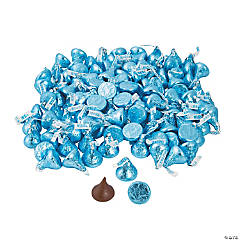 Hershey's® Kisses® Light Blue Chocolate Candy