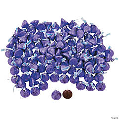Hershey&#8217;s<sup>&#174;</sup> Kisses<sup>&#174;</sup> 400 Pc. Purple Chocolate Candy