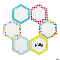 HexaFun Hexagon Bulletin Board Cutouts