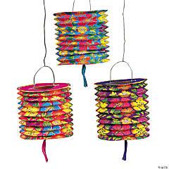 Hibiscus Hanging Paper Lanterns