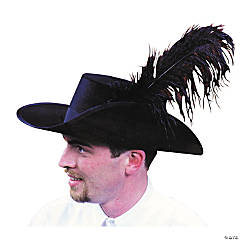 High Quality Cavalier Hat - Extra Large