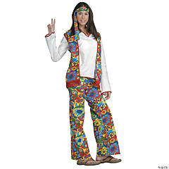 Hippie Dippie Costume for Women
