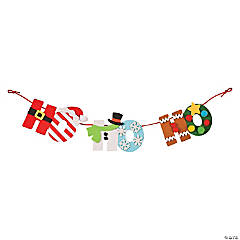 Ho Ho Ho Sign Craft Kit