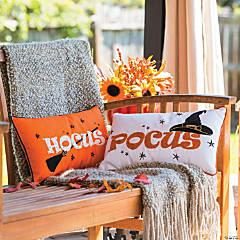Hocus Pocus Outdoor Throw Pillows Halloween Décor