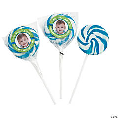 Hole-in-One Custom Photo Swirl Pops
