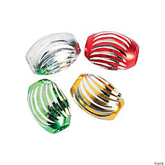 Holiday Aluminum Beads - 12mm