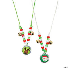 Holiday Bottle Cap Necklace Craft Kit