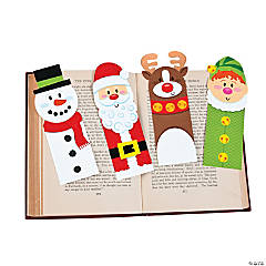 Holiday Character Bookmarks