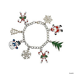 Holiday Character Charm Bracelets