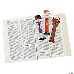 Holiday Character Ruler Bookmarks