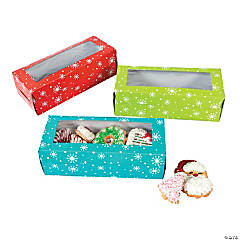 Holiday Cookie Boxes