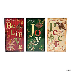 Holiday Handicraft Wall Signs