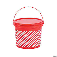 Holiday Pails with Lids