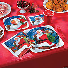 Holiday Santa Party Supplies