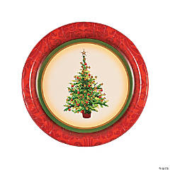 Holiday Spruce Dinner Plates