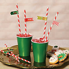 Holiday Straws Idea