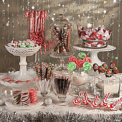 Holiday Sweets Candy Buffet Idea
