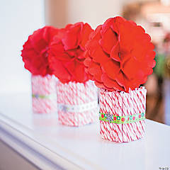 Holiday Twist Topiary Centerpiece Idea