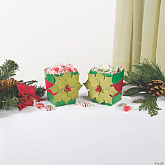 Holly Leaf Popcorn Boxes Idea
