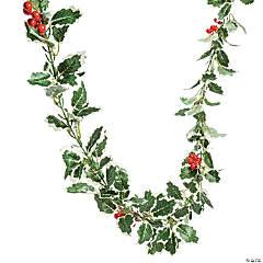 Holly Leaf Silk Garland