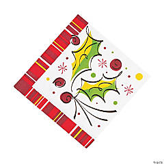 Holly Pop Luncheon Napkins