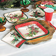 Holly Sprig Party Supplies