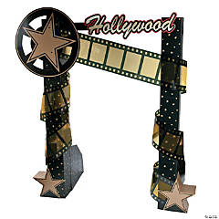 Hollywood Nights Archway Cardboard Stand-Up