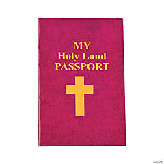 Holy Land Passport Sticker Books