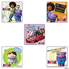 Home the Movie Stickers