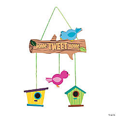 Home Tweet Home Mobile Sign Craft Kit