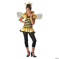 Honey Bee Tween Girl's Costume