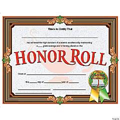Honor Roll Awards, 30 per Pack, 6 Packs