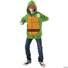 Hoodie Teenage Mutant Ninja Turtle Raphael Costume for Boys