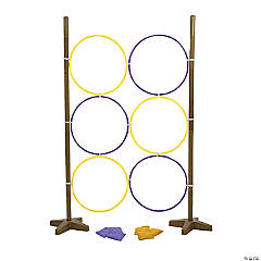 Hoops Bean Bag Toss Game