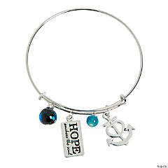 Hope Anchors the Soul Bracelet Idea