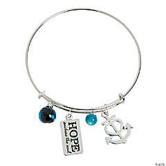 Hope Anchors the Soul Bracelet Idea